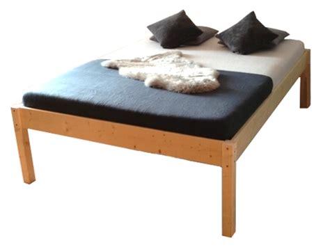 Erhöhtes Bett Holz Massivholzbett Holzbett Seniorenbett