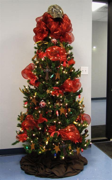 christmas tree western theme western christmas decor