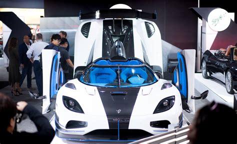 koenigsegg agera r blue interior new york 2017 koenigsegg agera rs1 gtspirit