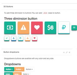 bootstrap snippet inspinia buttons