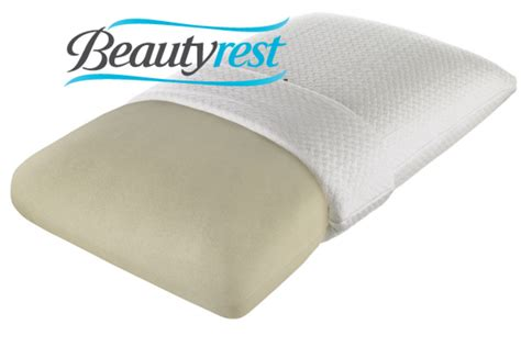 beautyrest memory foam pillow beautyrest 174 truenergy firm memory foam pillow at gardner