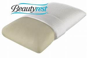 beautyrestr truenergytm firm memory foam pillow at gardner With beautyrest latex foam bed pillow