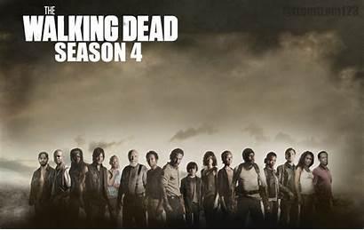 Walking Dead Season Cast Poster Complete Fanpop