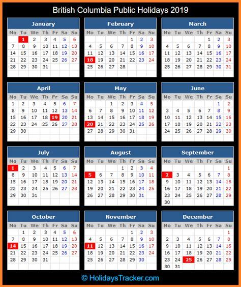 british columbia canada public holidays  holidays