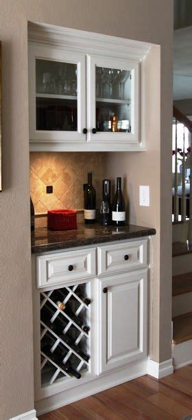 mini bar  built  wine rack mini bar built