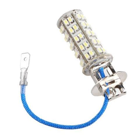 h3 68 smd led white car fog light l bulb 12v new