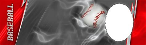 baseball photo templates