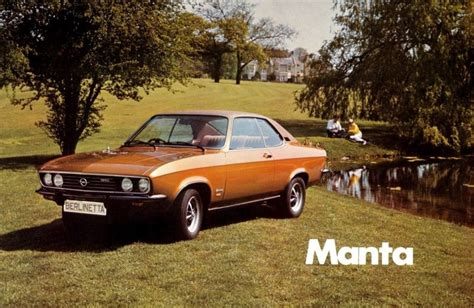 1974 Opel Manta by 1974 Opel Manta Copper My Had This Car Opel