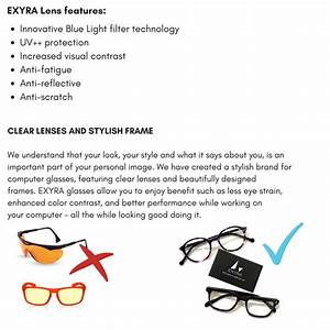 Stylish Solution for Digital Eyestrain by EXYRA —Kickstarter
