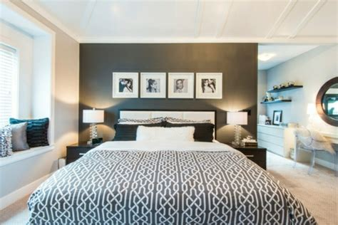 schlafzimmer ideen farben farben im schlafzimmer einsetzen das schwarz als hauptfarbe