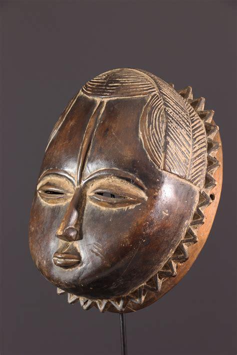 Masque Baoule Lune (12229) - Masque africain, art tribal ...