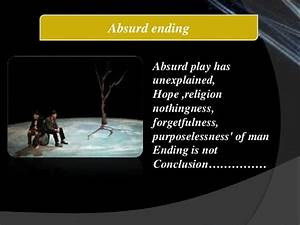 Waiting For God... Absurd Meaning