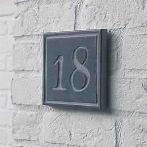 Numéro De Maison Design : num ro de maison en pierre votre num ro de rue en pierre ~ Dailycaller-alerts.com Idées de Décoration