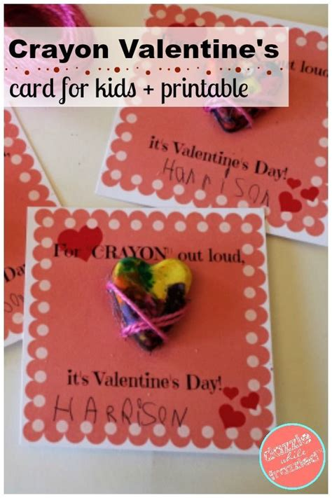 It's time to spread the. 3 Easy, Cute Kids Valentine's Day Cards with Free ...