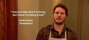 Studying For A ... Andy Dwyer Birthday Quotes