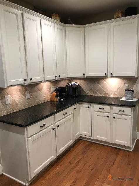 dover white kitchen  cabinet girls