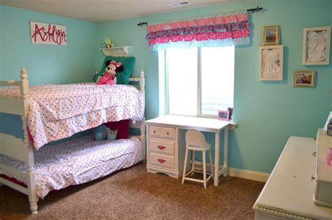 Hot Pink And Turquoise Girls Bedroom A Vision To