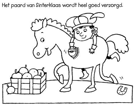 Afbeelding Sint Maarten Kleurplaat Eenvoudig by Kleurplaat Sinterklaas Kleurplaat Paard Sinterklaas