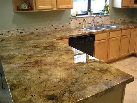 Cute Kitchen Countertop Overlay Cement Countertops