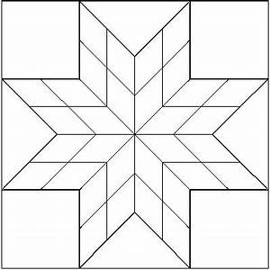 Lone Star Quilt Coloring Page