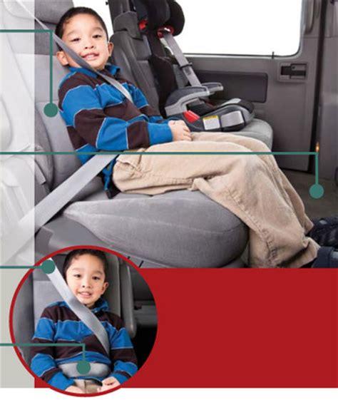 quand changer de siege auto phase 4 ceintures de sécurité transports canada