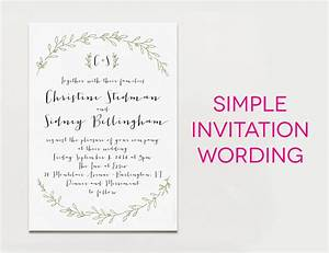 Wedding invitation templates what to write on a wedding for Wedding invitations writing names
