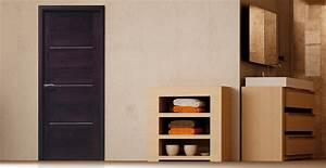 porte d interieur sur mesure obasinccom With porte de garage enroulable et porte interieur bois massif moderne