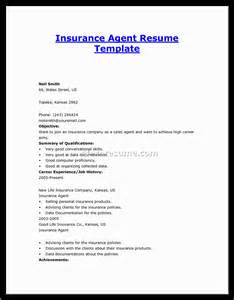 Insurance Resume Examples