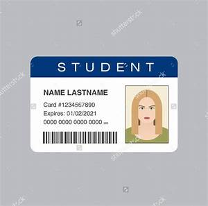 id card template 29 free psd vector eps png format With school id cards template