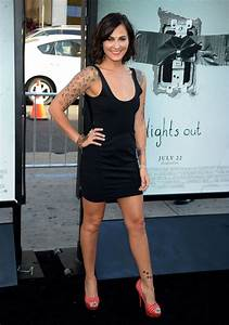 SCOUT TAYLOR COMPTON at Lights Out Premiere in Los Angeles ...