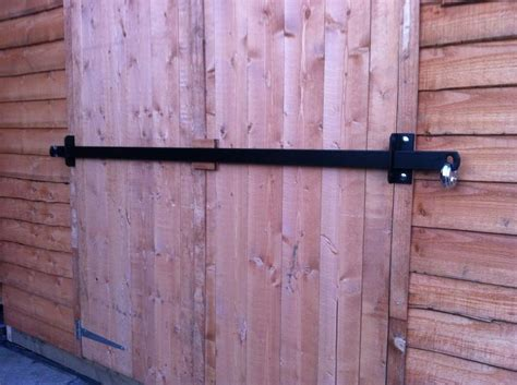 shed door security other shed security brackets