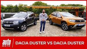 Dacia Duster 2018 Boite Automatique : 2018 dacia duster 2 le nouveau mod le affronte l 39 ancien comparatif youtube ~ Gottalentnigeria.com Avis de Voitures