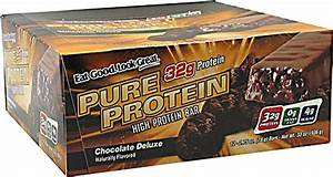 Worldwide Sports Nutrition Pure Protein Bar Chocolate Deluxe