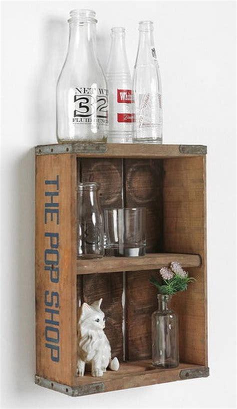 vintage craft crate ideas fun  creative