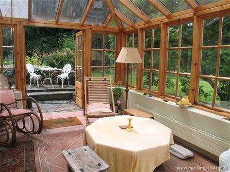 enclosed porch irish home house  porch enclosed