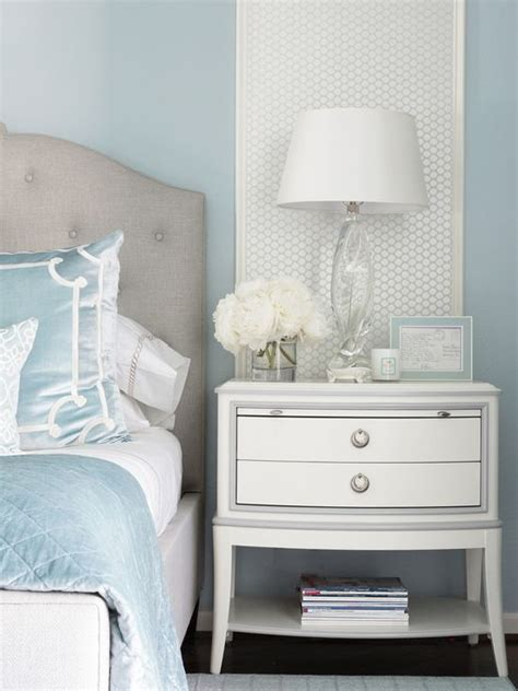 benjamin moore brittany blue bedroom interiors  color