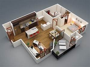 50 one 1 bedroom apartment house plans architecture With nice maison sweet home 3d 10 plan maison 224 etage gratuit