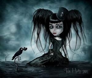 Little Sad Girl by THZ on DeviantArt