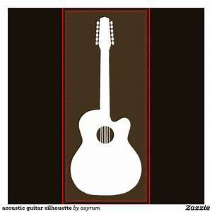 Acoustic Guitar Silhouette - Cliparts.co