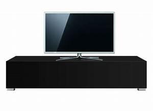 Banc Tv Design : banc tv avec tiroir laqu blanc design standard l achatdesign ~ Teatrodelosmanantiales.com Idées de Décoration