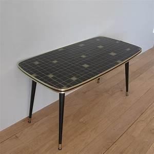 Table Basse Retro : table basse formica ~ Teatrodelosmanantiales.com Idées de Décoration