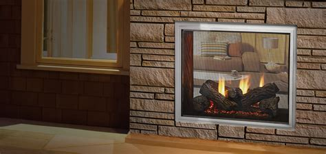 see through gas fireplace fortress see through gas fireplace quadra