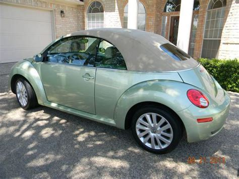 Sell Used 2008 Volkswagen New Beetle Se Convertibile Auto