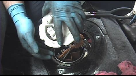 nissan maxima fuel pump replacement youtube