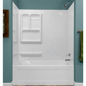 Lyons Versatile Sectional Bathtub Wall Kit At Menards
