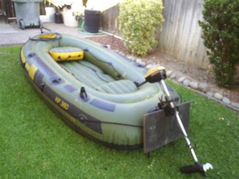 Inflatable Boat Fish Hunter by Sevylor 360 Fish Hunter For Sale