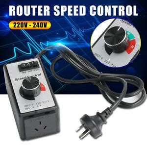 Variable Router Fan Speed Controller Electric