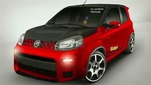 Render Novo Fiat Uno Turbo Concept 1 4 Multiair 167 Cv 23