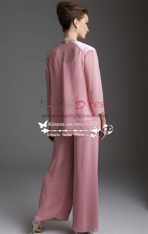 pink chiffon womens outfits lovely  jacket trouser