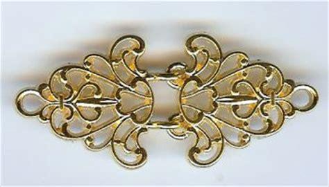 patterns  time gold filigree trivet cloak clasp cloak